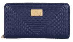 Trussardi Jeans sötétkék női pénztárca 75W00227-9Y099999