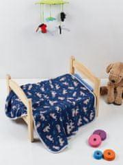 Denizli Concept Tenká detská deka TIGER (70x95 cm.)