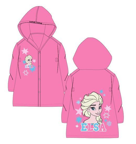 """Eplusm Dievčenský pršiplašť Frozen """"Elsa"""" - ružová - 122–128 / 7–8 rokov"""