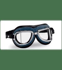 Climax Vintage brýle 513, CLIMAX (modré/chromový rámeček/čirá skla)