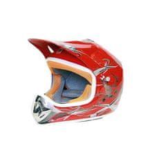 Tornado Moto prilba NITRO Xtreme Enduro Junior - červená 2XL