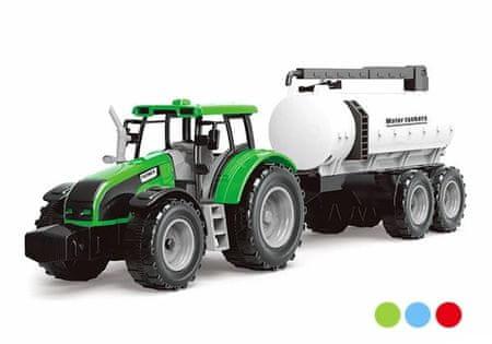 SELIS traktor na vztrajnik s prikolico, 48x15 cm (7804)