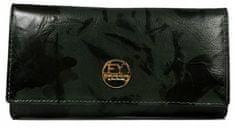 FOREVER YOUNG Moderní dámská kožená peněženka Marthas, černá