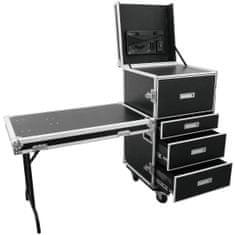 Roadinger WDS-1, univerzální přepravní skříň se zásuvkami a kolečky