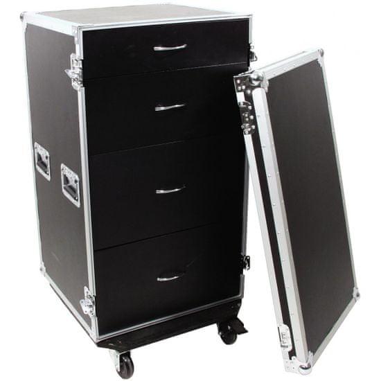 Roadinger ODS-1, univerzální přepravní skříň se zásuvkami a kolečky