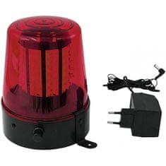 Eurolite LED policejní maják, 108 LED, červený