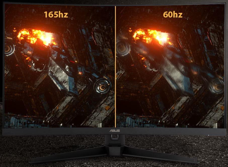 monitor gamingowy Asus TUF Gaming VG328H1B (90LM0681-B01170) full hd 165 hz bez zacięć