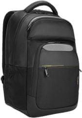 """Targus City Gear 14 - 15,6 """"laptop hátizsák, fekete, színes elemekkel, TCG660GL"""