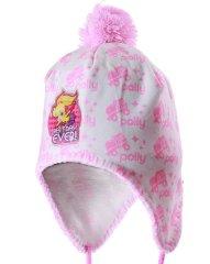 SETINO Polly Pocket lány kalapja pompom - fehér