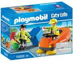 Playmobil 70203 Zametací vůz