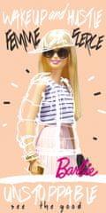 Carbotex Dětská osuška Barbie Módní ikona