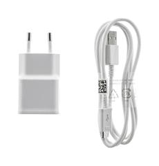 Samsung Originální nabíječka EP-TA50EWE + micro USB ECBDU4AWE bílá 1,55 A 20307