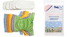 Babycity Babycity AIO sada: 5ks: plenkové kalhotky+5 ks bambusové plenky+110 ks separačky BabyOno