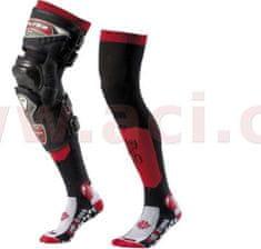 MOTO ONE Ponožky dlouhé Santa Monica, MOTO ONE (červené) (Velikost: 35/38) M168-05
