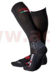 MOTO ONE Ponožky dlouhé Los Angeles, MOTO ONE (černé) (Velikost: 35/38) M168-00
