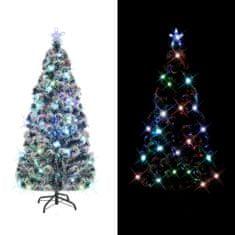 Umelý vianočný stromček, podstavec a LED 210 cm, 280 vetvičiek