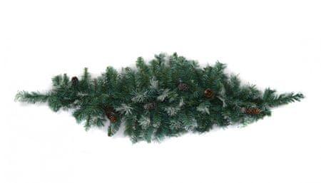 DUE ESSE Fenyőág tobozokkal karácsonyi dekoráció, 120 cm