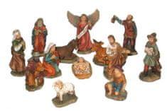 DUE ESSE zestaw 13 figurek do szopki, 5 cm