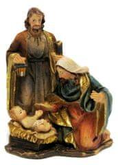 DUE ESSE dekoracja świąteczna - szopka, 8 cm