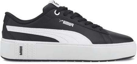 Puma női sportcipő Smash Platform V2 L, 37.0, fekete