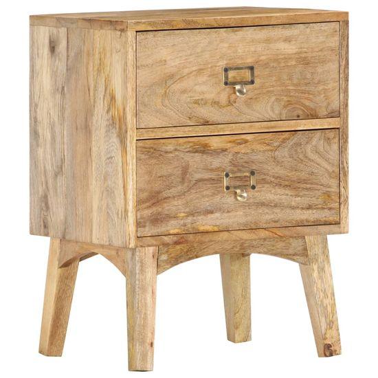 Vidaxl Noční stolek 40 x 35 x 55 cm masivní mangovníkové dřevo