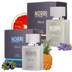 NORRI  Pánské parfémy za zvýhodněnou cenu 2x 50 ml