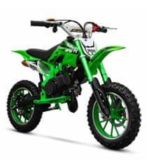 Sunway Motocykl Minicross XTR 701 49cc 2t E-start Zelená