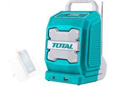 Total One-Stop Tools Rádio AKU, 20V Li-ion, 2000mAh, industrial - bez baterie a nabíječky