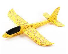 Velké házecí letadlo 48 cm - žluté