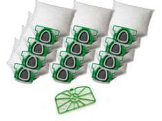 KOMA Súprava príslušenstva pre VORWERK VK 200 Kobold, 12ks vreciek, 1ks motorový filter