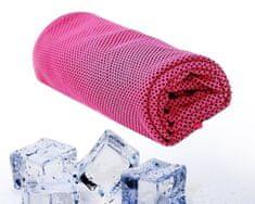 Chladící ručník - Růžový