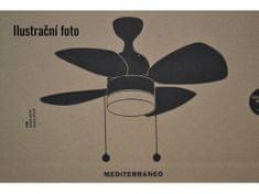 FARO 33704 MEDITERRANEO, stropný ventilátor