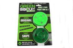 Green Biscuit Puk Green Biscuit Bonus 2-Pack, zelená