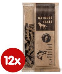 Tommi dopunska hrana za pse Natures Taste GF, losos, 12x100 g
