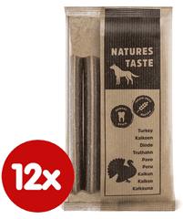 Tommi komplementarna hrana za pse Natures Taste GF Dental sticks, 12x140 g