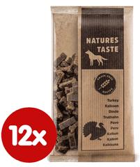 Tommi dopunska hrana za pse Natures Taste GF, puran, 12x100 g