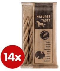 Tommi komplementarna hrana za pse Natures Taste GF, 14x100 g