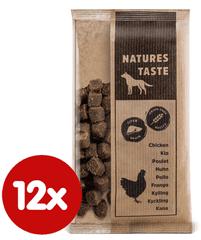 Tommi dopunska hrana za psa Natures Taste GF Snack jetra, 12x100 g
