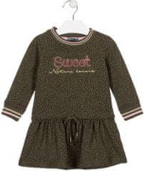 Losan dívčí fleecové šaty
