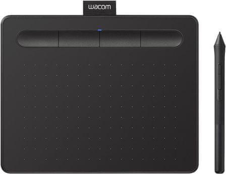 Wacom grafički tablet Intuos S, crni (2018)