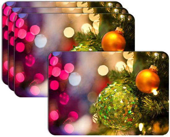 RoomDecor.eu Vianočné prestieranie-032, 4 Ks