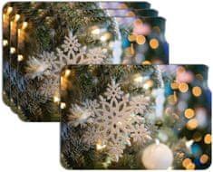 RoomDecor.eu Vianočné prestieranie-033, 4 Ks