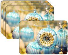RoomDecor.eu Vianočné prestieranie-035, 4 Ks