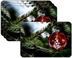 RoomDecor.eu Vianočné prestieranie-037, 4 Ks
