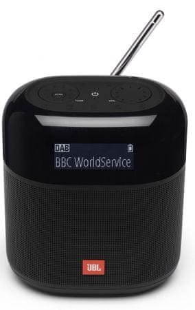 JBL Tuner XL prenosni brezžični zvočnik, DAB/FM radio, črn