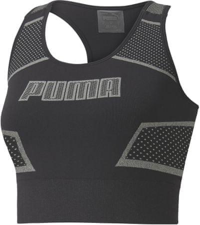 Puma Evostripe Evoknit Crop Top ženska majica, črna, M