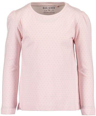 Blue Seven majica za djevojčice, svijetlo roza, 116
