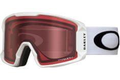 Oakley Line Miner XL biele matné, ružový zorník