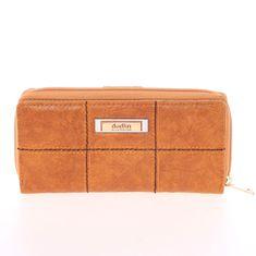 Dudlin Luxusní peněženka Dudlin Bella, světle hnědá