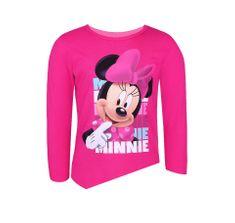 """SETINO Dievčenské tričko s dlhým rukávom """"Minnie Mouse"""" - ružová"""